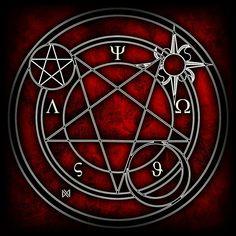 Glyphs by atethrie on DeviantArt Magic Symbols, Ancient Symbols, Circle Art, Magic Circle, Seven Deadly Sins Anime, Sacred Geometry, Occult, Dark Art, Tarot