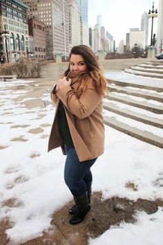 www.natalieinthecity.com www.natalieinthecityblog.tumblr.com Plus Size Fashionista, Chicago Fashion, Plus Size Fashion Blog, Adventure Style, Plus Size Model, Size Clothing, Cool Outfits, Curvy Women, Chicago Skyline