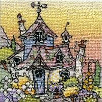 Honeysuckle Cottage - Michael Powell cross stitch designs...