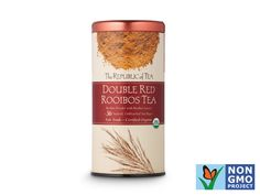 The Republic of Tea organic Double Red Rooibos http://www.prevention.com/food/healthy-eating-tips/100-cleanest-packaged-food-awards-2013-beverages/slide/4