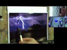 YouTube Jason Bowen, Bob Ross Paintings, Titanium White, Lightning Strikes, Pastel, Facebook, Larry, Hamilton, Artist