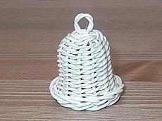 Obrazek Basket Weaving, Decorative Bells, Macrame, Diy And Crafts, Ornaments, Baskets, Handmade, Accessories, Christmas