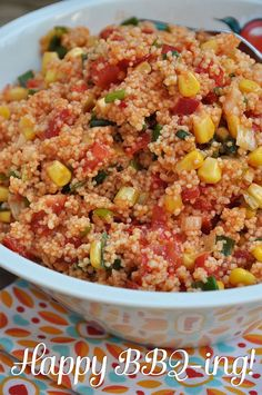 Recipes couscous vegetables / broth tomatoes, diced 2 sticks of leek . Couscous Salad Recipes, Bulgur Salad, Couscous Ideas, Frijoles, Barbacoa, Different Recipes, Food Inspiration, Meal Prep, Vegan Recipes