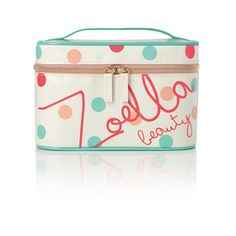 Zoella Beauty Classic Vanity Case -For storing all your cosmetics in Zoella Makeup Bag, Zoella Beauty Range, Beauty Vanity Case, Gifts For Makeup Lovers, Youtuber Merch, Beauty Bible, Xmax, Makeup Storage, Makeup Case