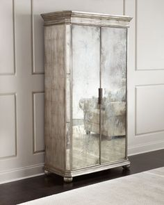 Shop Lucero Mirrored Cabinet from John-Richard Collection at Horchow, where you'll find new lower shipping on hundreds of home furnishings and gifts. Glass Curio Cabinets, Glass Shelves Kitchen, Mirror Cabinets, Glass Dresser, Kitchen Cabinets, Open Cabinets, Display Cabinets, Gray Cabinets, Cupboards