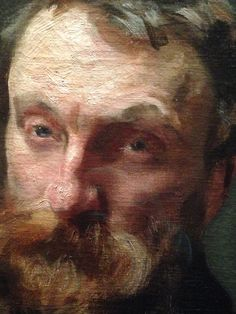 Portrait painting of Rodin (detail) by John Singer Sargent. Photo by Urban…