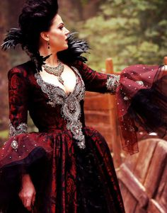 The Evil Queen from Once upon a time