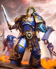 Roboute Guilliman Ultramarines, Warhammer 30k, Space Wolves, 40k News, The Horus Heresy, Open Field, Marvel, Emperador, Horde
