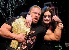 Triple H, Ozzy Osbourne, Black Sabbath, Wrestling, Couple Photos, Couples, Music, Lucha Libre, Couple Shots