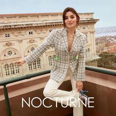 "Nocturne on Instagram: ""Kendini özgür hissettiğin, kendin gibi olduğun bir gün, #nocturne günü. Sen de bizimle birlikte yaza merhaba de! #NocturneHandeErçel"" Turkish Women Beautiful, Turkish Beauty, Bunny Dance, Hande Ercel, Film Aesthetic, Victoria Secret Fashion, Nocturne, Beautiful Actresses, Cool Outfits"