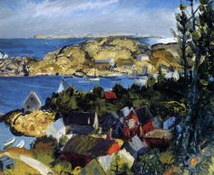 George Bellows - Matinicus from Mt. Ararat