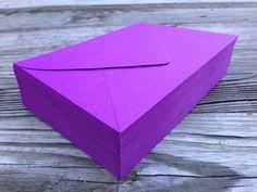 50 A7 5x7 Envelopes Beet Purple Paper Source by SEEDInvites