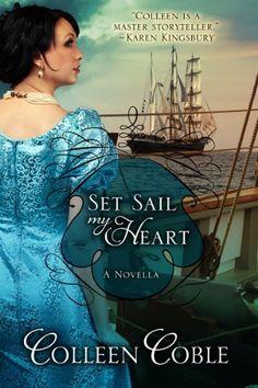 Set Sail My Heart by Colleen Coble, http://www.amazon.com/dp/B00BGBBBB4/ref=cm_sw_r_pi_dp_7X09rb08NJQZW