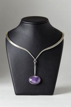 Necklace designed by Torun Bülow-Hübe for Georg Jensen, Denmark. 1960's. — Modernity