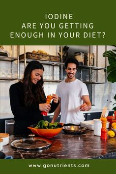 Are you getting enough iodine in your diet? What are symptoms of low iodine levels? How do I know if I should take an iodine supplement? What foods are high in iodine? Healthy Nutrition, Healthy Eating, Iodine Supplement, Iodine Deficiency, Benefit, Diet, Foods, Blog, Eating Healthy