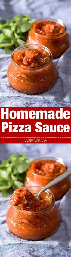 This Homemade Pizza Sauce will become your number one sauce and you will use it…