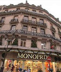 Monoprix. The French Target. Food and everything else. 71 rue Saint Antoine  75004 Paris   Neighborhoods: Bastille, Marais, 4ème  Metro: Saint-Paul, Bastille, Line 1