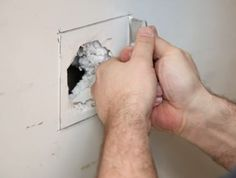 Hometalk :: How to Repair a Drywall Hole