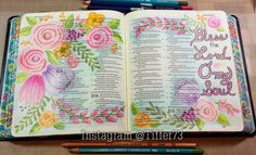 Tiffany's Garden Paper Crafts, Digital Stamps, Hand Made Cards, Country Living: bible journaling