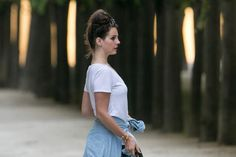 Lana in Paris