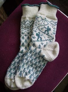 Knitting Patterns Socks Ravelry: Wanderlust pattern by Friederike Erbslein Crochet Socks, Knitting Socks, Baby Knitting, Knit Crochet, Knit Socks, Fair Isle Knitting Patterns, Knitting Charts, Ravelry, Patterned Socks