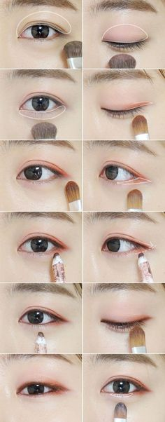3 makeup tips to make your eyes shine like a Korean star! - Make up - 3 makeup tips to make your eyes shine like a Korean star! – Make up - Korean Makeup Look, Korean Makeup Tips, Asian Eye Makeup, Natural Eye Makeup, Korean Makeup Tutorial Natural, Korean Beauty Tips, Asian Beauty, Asian Makeup Tutorials, Makeup Ideas