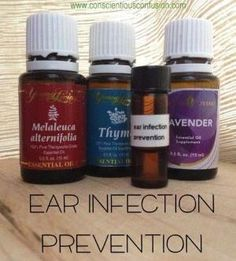 Young Living Essential Oils: Ear Infection Recipe: Add 3 drops thyme, 2 melaleuca, 2 drops lavender together. Apply to outer rim of ear canal. NEVER PUT ESSENTIAL OILS DIRECTLY IN YOUR EARS!!! by jlbusse