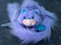furrever friends...cats with extendable Velcro tails...this was my mom's favorite toy of mine I think!