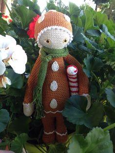 gingerbreadman mod made by Sonja F. / based on a lalylala crochet pattern
