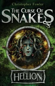 The Curse of Snakes / Christopher Fowler. Red Hellion lives opposite the creepy, tightly locked Torrington Park, or 'Viper's Green'. Walking home from school one day, he meets Max, who is trying to break in. Before he knows it, Red finds himself sucked into Max's plans to discover the whereabouts of his father, who disappeared weeks before under sinister circumstances connected with the park. But their investigations into the park, are linked to the terrible legend of Medusa . . .