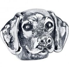 #ShorthairedPointer  Bark Beads, $79.95, 925 Sterling Silver, Compatible with Trollbeads, Pandora, and Chamilia bracelets, Hand-crafted in the USA, Available at ANDREW GALLAGHER JEWELERS, Newark, DE 302-368-3380
