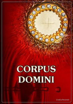 Manifesto Corpus Domini (18 giugno 2017)
