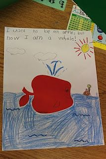 Simply Second Grade: Apple Transformations Use other shapes/themes for creative writing and art
