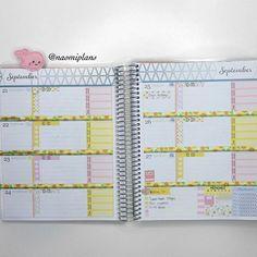 This weeks layout in my horizontal @erincondren life planner!  #erincondren #ec #lifeplanner #erincondrenlifeplanner