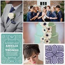 mint and navy wedding - Google Search ...vintage mint and dark smokey blue grey