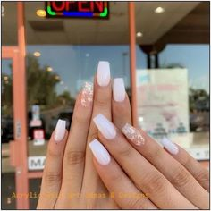 Acrylic nail designs 841539880358236749 - 29 Sleek and Stylish ACRYLIC NAILS Design Ideas for You This Year 2020 : Page 17 of 29 : Creative Vision Design Source by anxiiss Natural Acrylic Nails, Acrylic Nails Coffin Short, Simple Acrylic Nails, Summer Acrylic Nails, Best Acrylic Nails, Acrylic Nail Designs, Summer Nails, Pastel Nails, White Acrylic Nails With Glitter