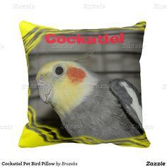 Cockatiel Pet Bird Pillow