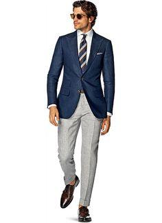 Jacket_Blue_Plain_Washington_C821