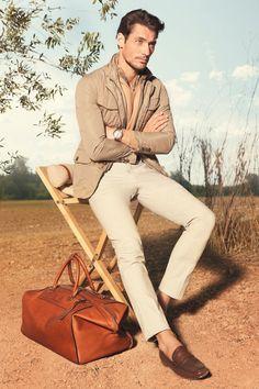 David Gandy for Massimo Dutti Spring 2013 via http://dailymalemodels.com
