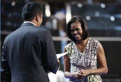 Michelle Obama, Kal Penn