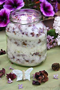 Diy Scrub, Soda, Smoothie, Diy And Crafts, Jar, Healthy Recipes, Homemade, Cooking, Kitchen