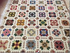 A few weeks ago, I posted some blocks from the Lucy Boston quilt we are working on for our Raffle Quilt. Cross Quilt, I Love Lucy, English Paper Piecing, Easy Peasy, Quilt Making, Boston, Quilts, Sewing, Blog