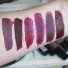 Mascavo / Jetés / Sapatilha / Duda Pretty Poison T.blogs / Smoked Purple MAC / Living Legend MAC
