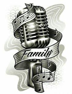 Trendy Music Tattoo Ideas Rock music tattoo ideas Trendy Music Tattoo Ideas Trendy Music Tattoo Ideas Rock music tattoo ideas Trendy Music Tattoo Ideas Rock Old School Microphone Tattoo Design microphone tattoo designs Tatoo Music, Music Tattoos, Body Art Tattoos, Rock Tattoo, Faith Tattoos, Rib Tattoos, Word Tattoos, Looks Rockabilly, Rockabilly Art