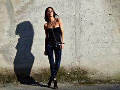 Now online the amazing #denim #diva customized by Martina Cancellotti>http://goo.gl/k6S3WO