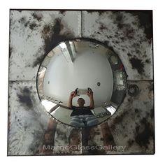 Antique Convex Mirror Dewa >> Venetian Mirror Manufacture Wholesale Size : 50 cm x 50 cm Convex Mirror, Mirror Art, Venetian Mirrors, Articles, Furniture
