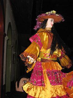 Gigantona. León Nicaragua