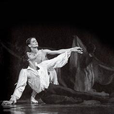 "N. Tsiskaridze & I. Piatkina. ""Paganini"". Bolshoi Theatre (1995)."