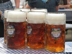 Was gibt es Besseres als ein kühles, frisch gezapftes bayerisches Bier?! There is nothing better than a cool, freshly drawn Bavarian beer! :-)