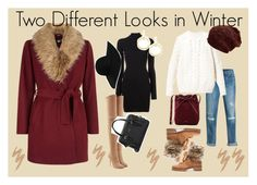 Two Different Looks in Winter by ririhara on Polyvore featuring polyvore, fashion, style, adidas Originals, Diesel, New Look, White House Black Market, Balmain, Alexandre Birman, Kate Spade, Mansur Gavriel, Vita Fede, Monki, Urban Decay and clothing